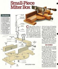 #1347 DIY Miter Box - Hand Tools Tips and Techniques