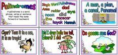 Teaching Resource - Literacy Display, Palindromes