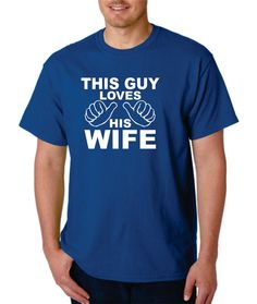 Birthday Gift for Husband This Guy Loves His by Designs2Express, $15.99