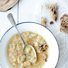 zupa grochowa, zupa grochówka przepis