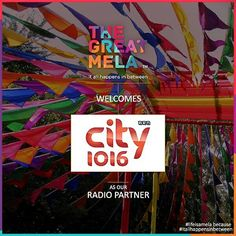 #UAE's No. 1 #Bollywood #Radio station are partners to the No. 1 #event in #Dubai! It is going to be #legendary at The Great Mela this #November! #lifeisamela and #itallhappensinbetween
