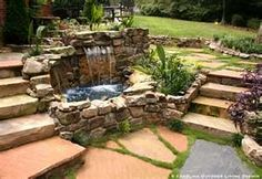 Water features add dimension