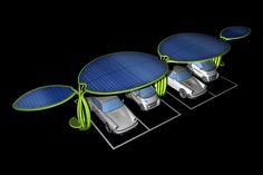 Innovative modular eco-urban furniture system, designed by Giancarlo Zema for LumineXence.