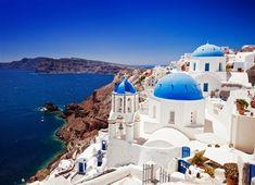 Santorini, Greece! On my wish list :)