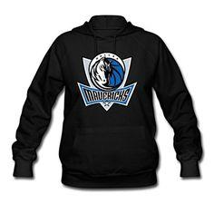 Woman's Autumn NBA Dallas Mavericks Symbol Hoodies Sweatshirts Hoodies Shirts Black M - Brought to you by Avarsha.com