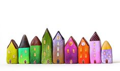 Little clay houses   Flickr - Photo Sharing!