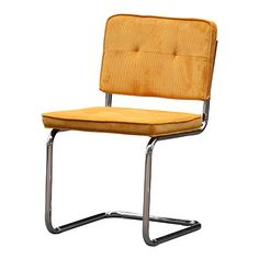 Goedkope Rib stoel Lola Oranje - Eetkamerstoelen - Stoelen   Zen Lifestyle