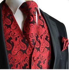 Brand Q Wedding Vest Set Red Black Paisley 3pcs Tuxedo Vest + Necktie + Handkerchief M Brand Q,http://www.amazon.com/dp/B0050C3YMO/ref=cm_sw_r_pi_dp_SScntb116SJ51ZEC