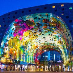Markthal Rotterdam, The Netherlands
