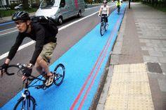 London's bike-lane Superhighways