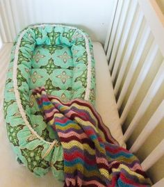 Scandi Baby Nest PDF Sewing Pattern Instant Download by JaggedRose