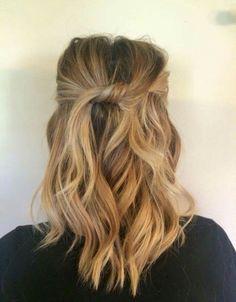 Half up + twist #hair