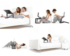 Multifunctional Laptop Stand | 29 Next-Level Products You Need For Your Bedroom