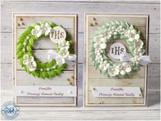 Blog Craft Passion: Wianuszki na ślub i komunię / Wreaths for wedding and communion