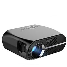 GP100 Video Projector, 3500 Lumens LCD 1080P Full-HD LED Portable Multimedia Home Theater Projectors for Movie, TVs, Laptops, Games,DVD,PC,Laptop Support HDMI, USB, VGA, AV. 【Higher Brightness Projector】- - With HD 1280 x 800 local resolution,3500 radiant efficiency,3000:1 static Contrast ratio,Dynamic up to, best offer