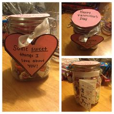 valentine's day gift for boyfriend: i made little love notes for, Ideas