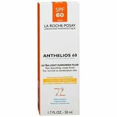 La Roche-Posay Anthelios 60 Ultra Light Sunscreen Fluid Extreme, SPF 60 $25