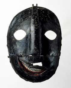 15 th century executioners mask.