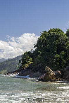 Pedra da Freira, Praia do Garcês, Caraguatatuba