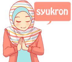 sister's hijab diary by Banana bee sticker Cartoon Jokes, Cartoon Gifs, Cute Cartoon Wallpapers, Emoji People, Hijab Drawing, Cute Thank You Cards, Islamic Cartoon, Hijab Cartoon