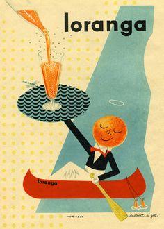 Loranga (the orange) /// by Olle Eksell