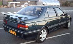 Peugeot 405 Mi 16 (I have a thing about this car...)