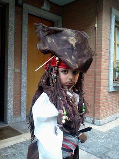 Halloween idea Jack Sparrow