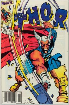 Beta Ray Bill - cover of Thor 337