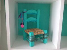 Mini Sillas de Decoración, $140 en http://ofeliafeliz.com.ar