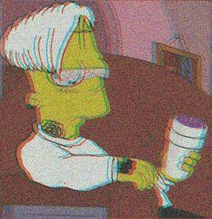 GANG$TA Sad Wallpaper, Iphone Wallpaper, Simpson Wallpaper Iphone, Tumblr Wallpaper, Dope Art, Bart Simpson Tumblr, Simpson Wave, Hypebeast Wallpaper, Simpsons Art