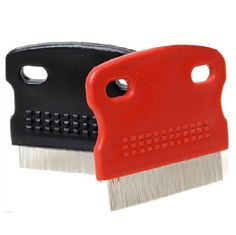 HuntGold Pet Cat Dog Toothed Flea Ovum Remover Grooming Cleaning Comb Steel Hair Brush(random color) * You can find out more details at the link of the image. (This is an affiliate link and I receive a commission for the sales)