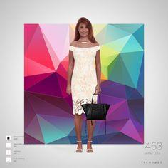 equipo de la manera hecha por Jessica Melissa el uso de ropa de Saks Fifth Avenue OFF 5TH, AX Paris, Quiz Clothing, Amazon Fashion. Estilo hecho en Trendage.
