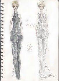 Pippa McManus Sketch Show : Vera Wang, S/S13, New York