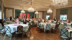 This is the Ballroom for the American Girl Brand Doll Fashion Show Houston. Beautiful right? @agofficial #americangirlbrand #joy2everygirl