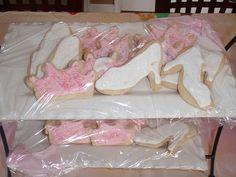 Slipper Cookies #Cinderella party