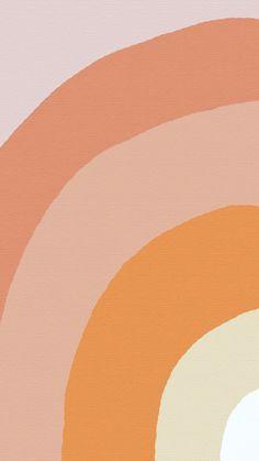 minimal line illustration Iphone Wallpaper Vsco, Iphone Background Wallpaper, Pastel Wallpaper, Aesthetic Iphone Wallpaper, Screen Wallpaper, Aesthetic Wallpapers, Cute Backgrounds For Iphone, Orange Wallpaper, Phone Background Patterns