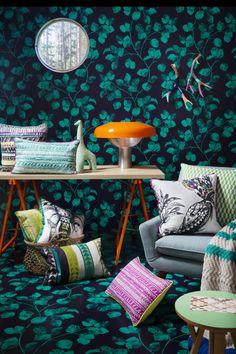 KAS ALESSANDRA CUSHIONS Sweet Home, Cushions, Leaves, Decor Ideas, Living Room, Inspiration, Throw Pillows, Biblical Inspiration, House Beautiful