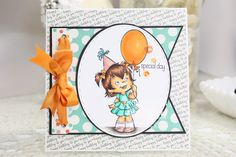 Daydreaming to Create, CC Designs 'Birthday Twila', Copic Markers, card, Birthday card, CC Designs 'Make a Banner',