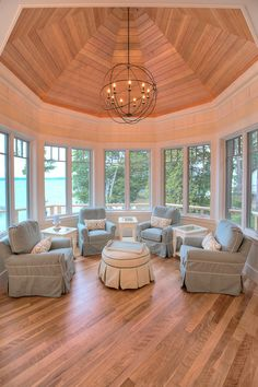 Lake view. MAC Custom Homes, Traverse City, MI.