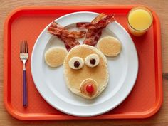 Invite some happy bears, bunnies and more furry (er, fruity?) friends to the table in the morning.