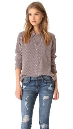 Soft Joie Anabella Button Down Blouse