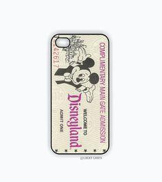 iPhone 5 Case, iPhone 5s Case - Disneyland Ticket
