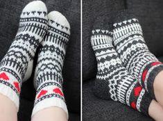 että Knitting Videos, Knitting Charts, Knitting Socks, Hand Knitting, Knitting Patterns, Sock Crafts, Wool Socks, Tapestry Crochet, Knitting Accessories