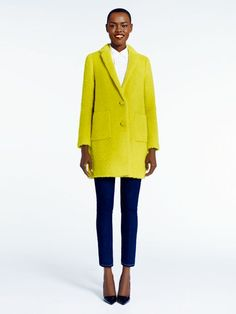 madison ave. collection octavia coat by kate spade