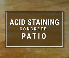 Acid Staining a Patio is by our most popular first-time DIY acid staining project. Acid stained patios are unique, welcoming and add value to your home. Acid Stained Concrete Patio, Concrete Acid Stain Colors, Concrete Patio Designs, Concrete Lamp, Concrete Cleaner, Concrete Countertops, Patio Flooring, Laminate Flooring, Driveway Landscaping