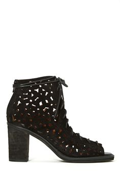 Jeffrey Campbell Cors Bootie - Black | Shop Shoes at Nasty Gal