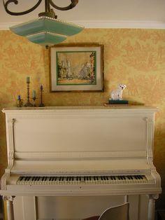 My antique piano.