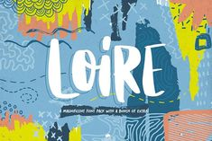 Loire Font Pack + Graphic Bundle by Heybing Supply Co. on @creativemarket