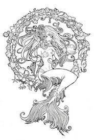 zodiac coloring pages colouring pages pinterest - Pin Up Girl Coloring Pages