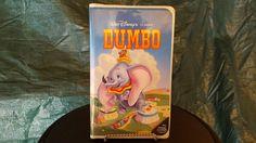 Walt Disney 1989 Black Diamond Classics Dumbo VHS
